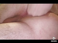 Close Up hardcore anal training and fisting