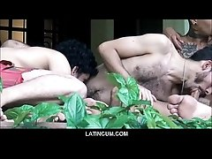 Amateur Latino Boys Group Sex Orgy At Gay Sex Retreat