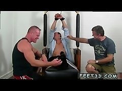 Spit feet gay twinks Gordon Bound &amp_ Tickle d
