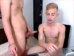 Fucking a blonde twink, watch part 2 at bit.ly/topgays