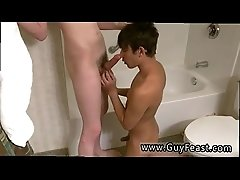Open cum filled gay twinks Angel ups up sitting on Aron&#039_s cock,