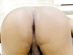 Arab gay ass stretching and breathing