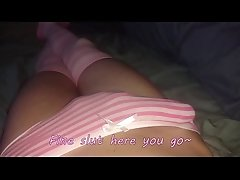 Little Cute Femboy Twink Kittyboyxp Shows off his Huge Cock in Panties