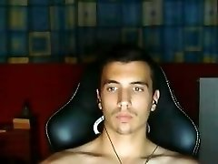 Greek Beautiful Boy Shows His Big Cock & His Nice Ass On Cam