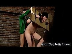 Asian male bondage free gay This guy is in the stocks, but it&#039_s not