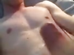 Teen guy cumshot on face