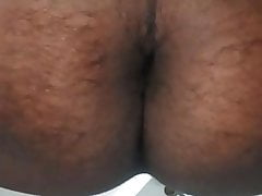 Playing with my ass (first time on camera)