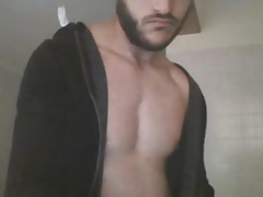 Gay Good Looking Guy Cums On Cam