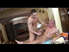 Twink is gratifying chap with wild anal fingering