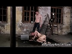 Free gay twinks tied up bondage tube and movie xxx His shaft is