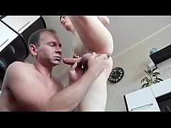boy and dad on cam