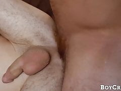 Alex Meyer choked and drilled doggystyle by masked hunk