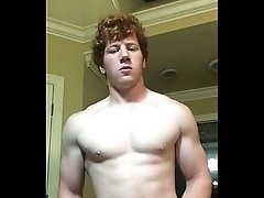 Muscle guys Stokes his big muscle