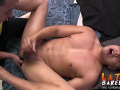 Best friends Emilio and Dante kinky fetish twink sex home