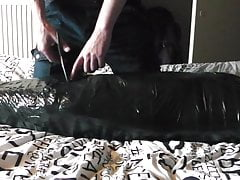 mummified after a long edging session