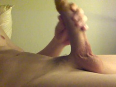 Cumming on myself