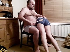 Spanked by daddy bear