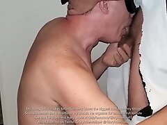 Hung uncut stud in Berlin Germany feeds me a record cumload
