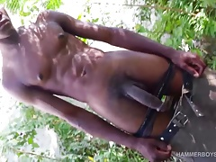 Hung Jose Amando Jerking Off Outdoors