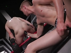 Club Inferno Dungeon Ginger Twink Fist Fucked