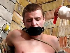 Teen gets bound and whipped