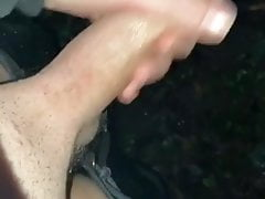 Cute welsh lad loves outdoor piss and cum