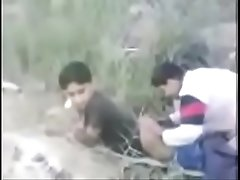 Paki Twinks having anal sex in the fields