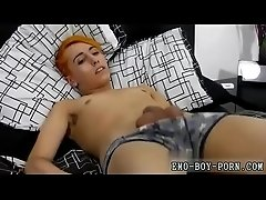 emo porno gay and boy making cock love first time Bright orange