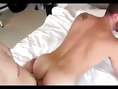 Big Cock Son Barebacks his Dad