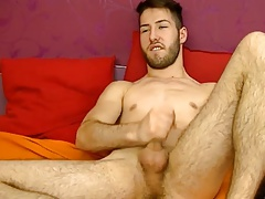 Romanian Beautiful Boy With Nice Big Cock On Cam (HD)