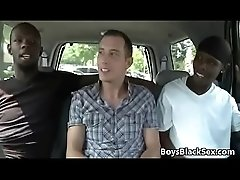Blacks On Boys - Interracial Nasty Hardcore Gay Fuck Movie 23
