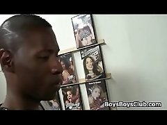 Black Gay Porn With Muscular Black Man and White Twink 05