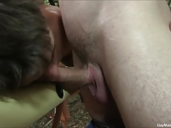 Gay Massage Seduction Blowjob