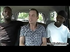 Blacks On Boys - True Interracial Gay Hardcore Fuck 04