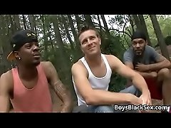 Blacks On Boys - True Interracial Gay Hardcore Fuck 23