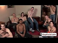 Bukkake Boys - Gay Hardcore Sex from www.GayzFacial.com 09