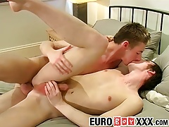 Raunchy twink Paul loves fucking Zak in every pose possible