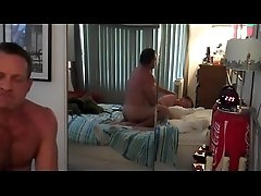 Daddy Roughly Fucks Sons Tight Ass - www.sluttygaycams.com