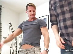 Married man sucking handsome dick