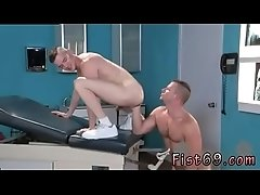 Fisting gay twink clip and cigar men Axel Abysse gets bare and