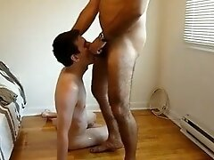 Old man young boy suck session