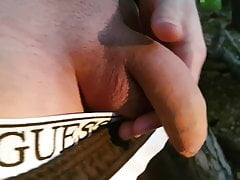 outdoor piss play