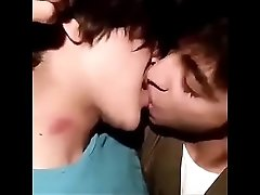 Indian Cute gay twink couple kissing each other
