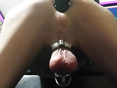 Skinny white sissy wants a black cock