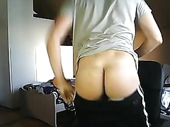 Italian Cute Boy With Round Hot Ass,Nice Cock On Cam