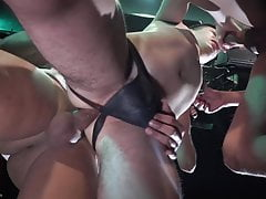 YoungBastards - Two Big Cocks Breed His Raw Hole