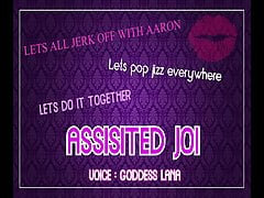 Assisted Masturbation Lets all jerk off with Aaron and pop