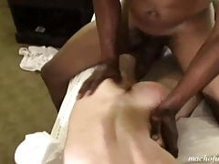 Whiteboy gets thugged out in a BBC Threesome