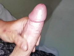 WHITE MONSTER COCK CUMMING!