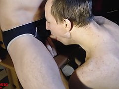 I Hard Facefuck Gay after BDSM Party